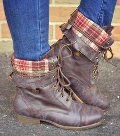 Beautiful combat boot