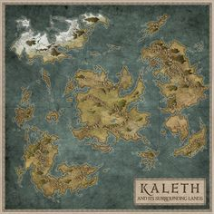 20 best fantasy world map images on pinterest cards maps and i was lately commissionned by the nice guys from aegin legacy and lineage a private based forum game to make the map of their world the map only shows gumiabroncs Gallery