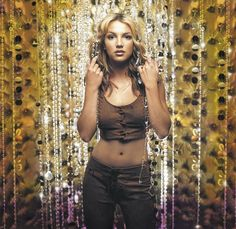 "Britney Spears in 2000 - this was on the cover of the ""Oops I did it again"" CD"
