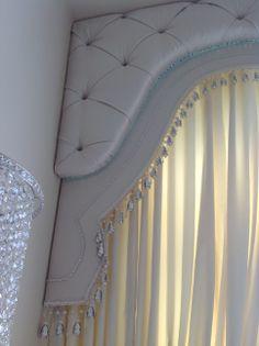 Upholstered Pelmets