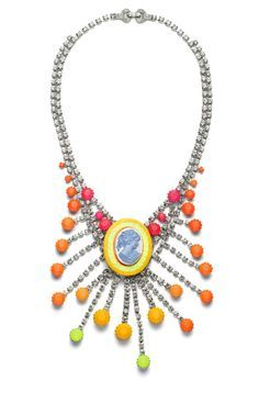 tom binns cameo necklace - Google Search