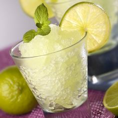 This lime slush recipe is a refreshing summer drink.. Lime Slush Recipe from Grandmothers Kitchen.