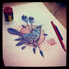 Jean Le Roux- birds birds birds....