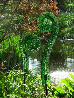 Ferns by Yvette Green