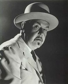 Sidney Toler as my favorite Charlie Chan.  There were three different actors who portrayed Charlie Chan.