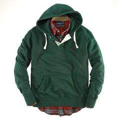 2acc7ae52 Ralph Lauren Classic Fleece Hoodie Green   64.62 Ralph Lauren Rugby Shirt