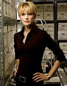 Kathryn Morris as Lilly Rush on Cold Case, from TV's top female detectives of all time