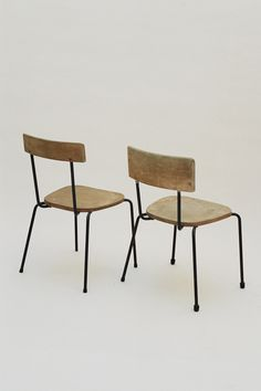 """A relatively unknown British designer, Oliver Jasper Cox, """"capable of designing anything from a door handle to a town"""". His life as a designer overlapped briefly with David Medd on the Carpenders Park School project, heading the furniture and colour programme around c. 1946 – 1950 (with Herts County Council). Cox was interested in all aspects..."""