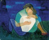 Un couple by Louis Toffoli