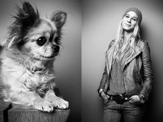 Photographer Tobias Lang captures moving portraits of pets and their owners - DesignTAXI.com