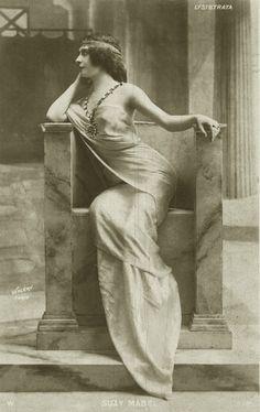 Vintage actress in Throne 002 by ~MementoMori-stock on deviantART