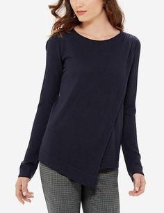 Wrap Look Sweater