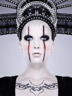 Photographer: Mr amato photography   Special FX makeup: Jill Fogel  Headdress: Miss G Designs  Model: Velocity