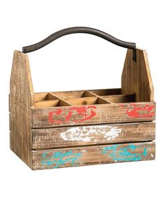 Vintage Milk Crate Wine Bottle Holder & more ~ Bring the Farmers Market Home — up to 55% off