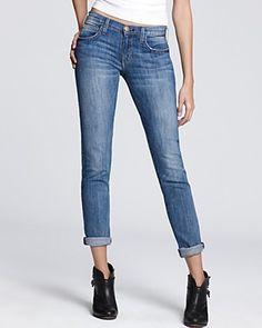 Current/Elliott Jeans - Bluechip Rolled Skinny | Bloomingdale's