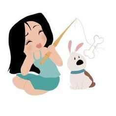 Mulan and Little Brother