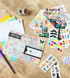 Pipsticks Subscription Sticker Club. Such a fun idea for kids to get monthly stickers in the mail!