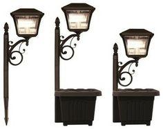 Gama Sonic Multipurpose Solar Lantern - Set of 2 - modern - outdoor lighting - Hayneedle