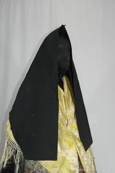 Antigüedades: Antigua mantilla de algodón, verdosa - Foto 3 - 58578101