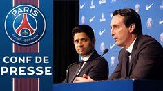 Conf de presse de Unai Emery et Hatem Ben Arfa© PSGTVPSG.TV vous propose régulièrement l'actualité du club : Résumés de matchs, gestes techniques, conférence de presse, présentation de joueurs, évènements majeurs du club...SUBSCRIBE to PSG Dailymotion Channel: http://dai.ly/u/PSGLIKE PSG on Facebook: https://www.facebook.com/PSGFOLLOW PSG on Twitter: https://twitter.com/psg_insideVISIT: http://www.psg.fr