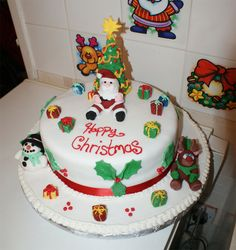 Most Beautiful Christmas Cake Of All Time Cake