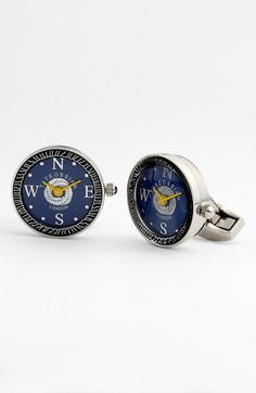 Tateossian 'Mechanical Nautical Watch' Cuff Links | Nordstrom