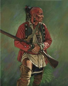 delaware indians results - ImageSearch American Indian Wars, Native American Cherokee, Native American Warrior, Native American Clothing, Native American Artwork, Native American Artists, Native American History, American Indians, Delaware Indians
