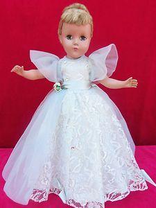Vintage Arranbee hard plastic Nancy Lee Nanette Cinderella doll, 1950's.
