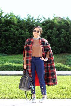 Apsara Baldovino, Senior Account Manager Vintage cape, Zara knits, Tim O'Conner pants, Kinki Gerlinki shoes, Givenchy handbag, Vintage rings, Pendant from the Grand Bazaar Istanbul.