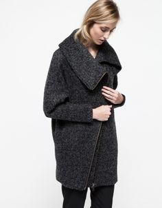 Tamp Jacket in Anthracite