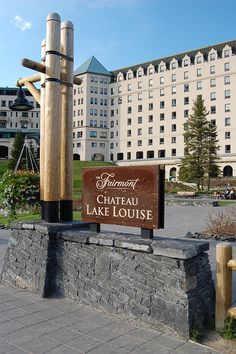 Fairmont Chateau Lake Louise in Alberta, Canada by AZBump, via Flickr - The rooms facing the lake must be very expensive!