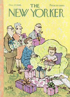 The New Yorker - Saturday, December 27, 1969 - Issue # 2341 - Vol. 45 - N° 45 - Cover by : William Steig