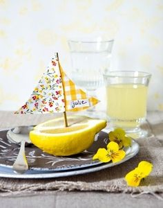 lemon boat