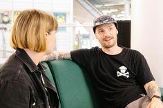 Interviewing Gavin Strange at Birmingham Design Festival 2019