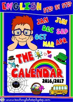 SCHOOL YEAR CALENDAR PACK - 2016/2017