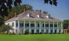 Tours of sugar-cane plantation, birthplace of architect H.H. Richardson, explore original slave cabins and other historical structures
