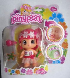 New Pinypon Scented Doll - Pink Hair NEW FOR 2014