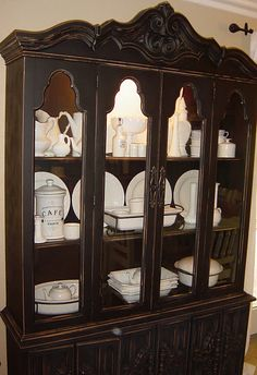 China Hutch Redo - @Diane Souza  this is what im thinking for my grandmas hutch