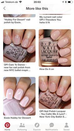Opi Nail Polish, Opi Nails, Essie, Nail Colors, Ongles