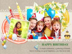 Download Free Birthday Greeting Card Template-1001 in CorelDraw and Ms-Word File Format.