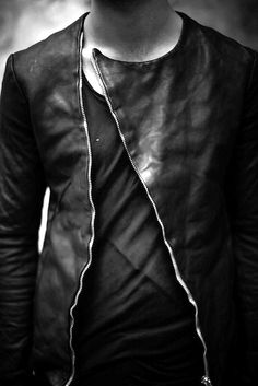 This is slick!  #leather #fashion