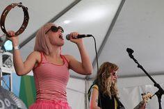 Tacocat performs at Bumbershoot.