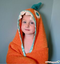 How to Make a Hooded Towel for Kids   AllFreeSewing.com
