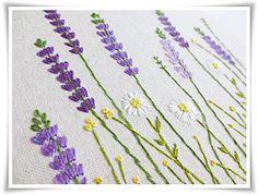 Margarita lavanda de jardín jardín mano por KawaiiSakuraHandmade
