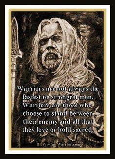 warrior is...