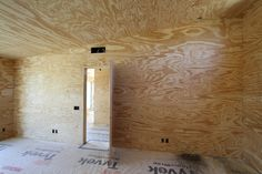 Doug Fir plywood room: Ideas for Conference Room