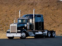 Kenworth W900L Nice Truck/// Dad