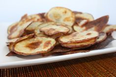 Oven Roasted Potatoe Chips!  Can't wait to try this one!