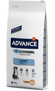 Advance Dog Maxi Light Chicken & Rice 14 Kg Chicken Rice, Pet Shop, Portugal, Dogs, Pet Store, Gatos, Food, Arroz Con Pollo