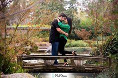 Hermann Park Engagement photo shoot - Japenese gardens - Amy & Brett-29